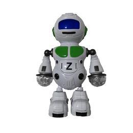 Robot de jucarie cu lumini led Huo Bei - merge, danseaza, canta