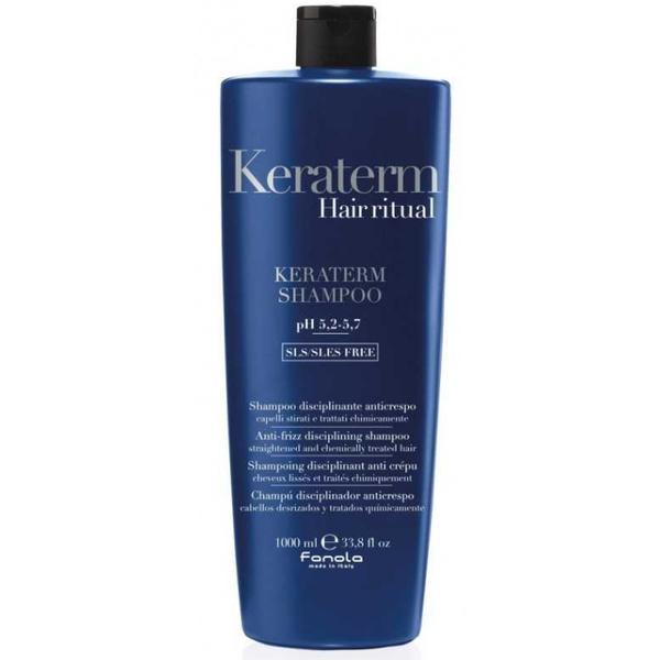 Sampon pentru Netezire - Fanola Keraterm Hair Ritual Anti-Frizz Disciplining Shampoo, 1000ml imagine produs