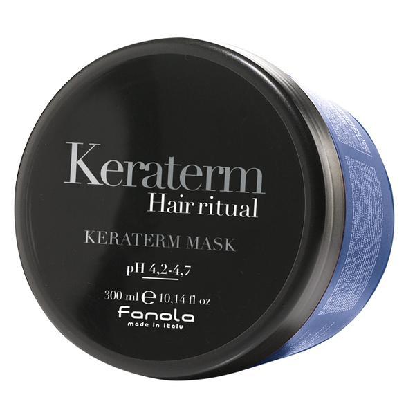 Masca pentru Netezire - Fanola Keraterm Hair Ritual Anti-Frizz Disciplining Mask, 300ml imagine produs