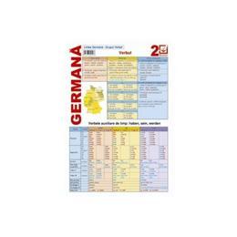 Limba Germana 2 - Grupul Verbal - Verbul, editura Booklet