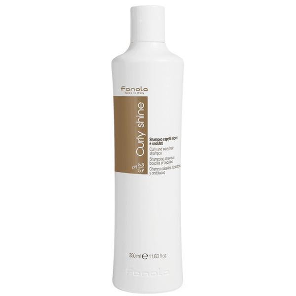Sampon pentru Par Cret si Ondulat - Fanola Curly Shine Curly and Wavy Hair Shampoo, 350ml imagine