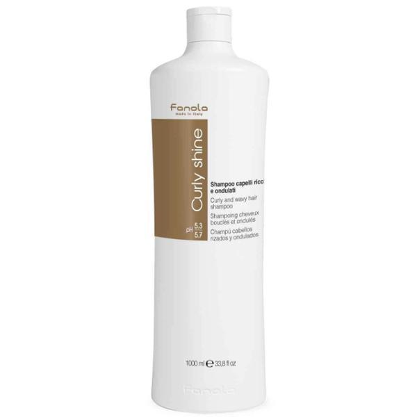 Sampon pentru Par Cret si Ondulat - Fanola Curly Shine Curly and Wavy Hair Shampoo, 1000ml esteto.ro