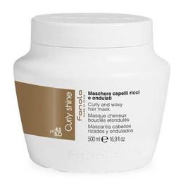 Masca pentru Par Cret si Ondulat - Fanola Curly Shine Curly and Wavy Hair Mask, 500ml