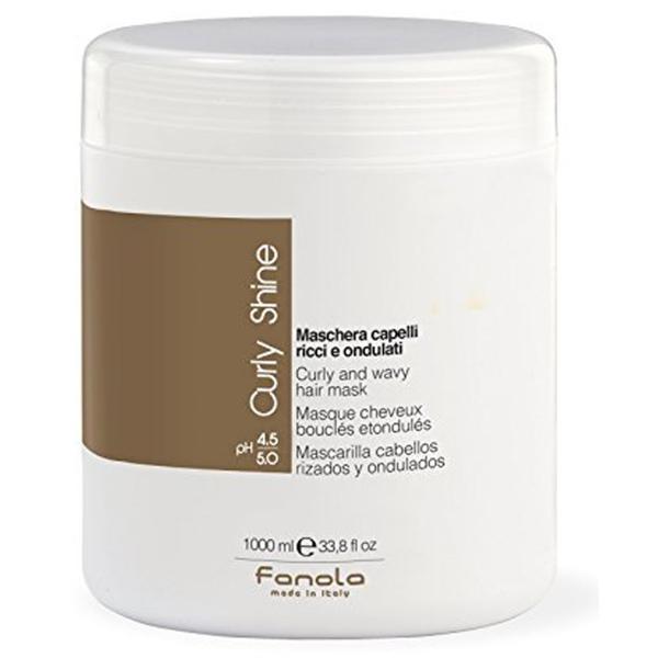 Masca pentru Par Cret si Ondulat - Fanola Curly Shine Curly and Wavy Hair Mask, 1000ml imagine produs