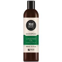 Sampon BIO cu ulei de cannabis Hello Nature Cece of Sweden 300 ml/cod.1576