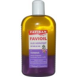 Ulei Hidratant de Baie si Corp cu Verbina Favioil Favisan, 300ml