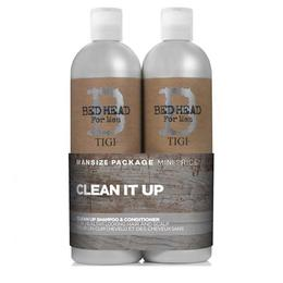 Pachet Șampon și Balsam pentru bărbați Tigi Bed Head Clean Up Duo 2x750ml