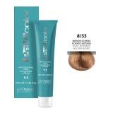 Vopsea Permanenta - Oyster Cosmetics Perlacolor Professional Hair Coloring Cream nuanta 8/33 Biondo Chiaro Dorato Intenso