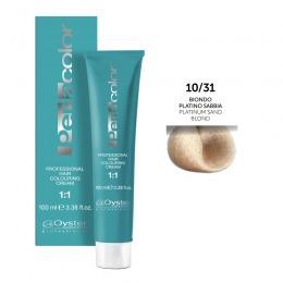 Vopsea Permanenta - Oyster Cosmetics Perlacolor Professional Hair Coloring Cream nuanta 10/31 Biondo Platino Sabbia