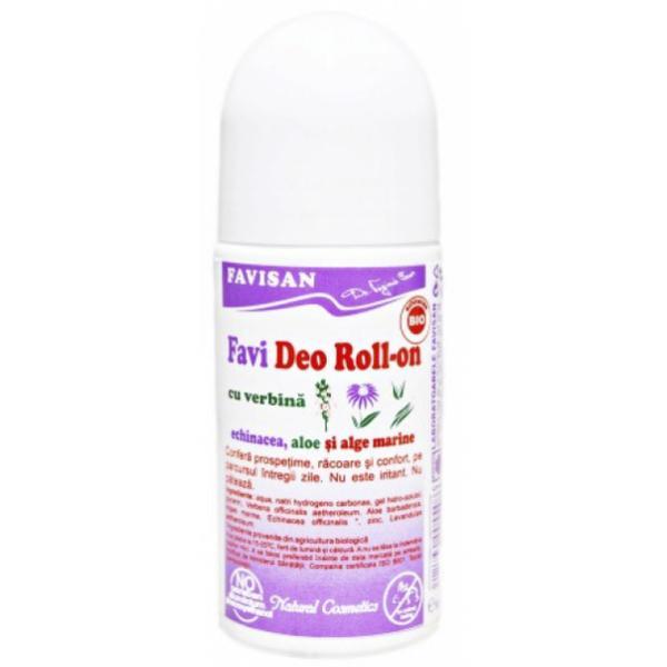 Deodorant Roll-On cu Verbina Favideo Favisan, 50ml imagine produs