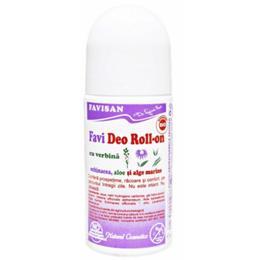 Deodorant Roll-On cu Verbina Favideo Favisan, 50ml