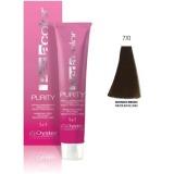 Vopsea fara Amoniac - Oyster Cosmetics Perlacolor Purity nuanta 7/0 Biondo Medio