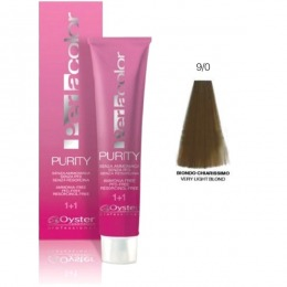 Vopsea fara Amoniac - Oyster Cosmetics Perlacolor Purity nuanta 9/0 Biondo Chiarissimo