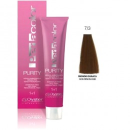 Vopsea fara Amoniac - Oyster Cosmetics Perlacolor Purity nuanta 7/3 Biondo Dorato