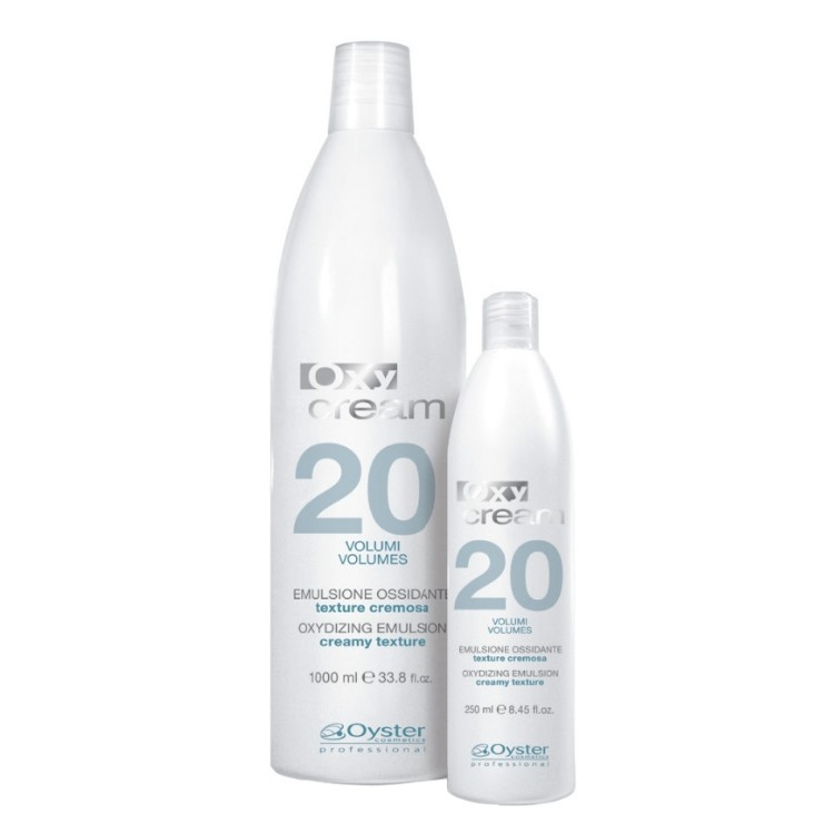 Emulsie Oxidanta 6% 20 vol - Oyster Cosmetics Oxy Cream Oxydizing Emulsion 6% 20 vol 1000ml imagine produs