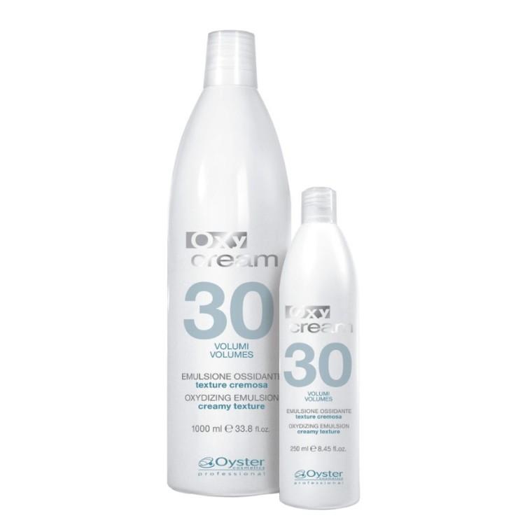 Emulsie Oxidanta 9% 30 vol - Oyster Cosmetics Oxy Cream Oxydizing Emulsion 9% 30 vol 1000ml imagine produs