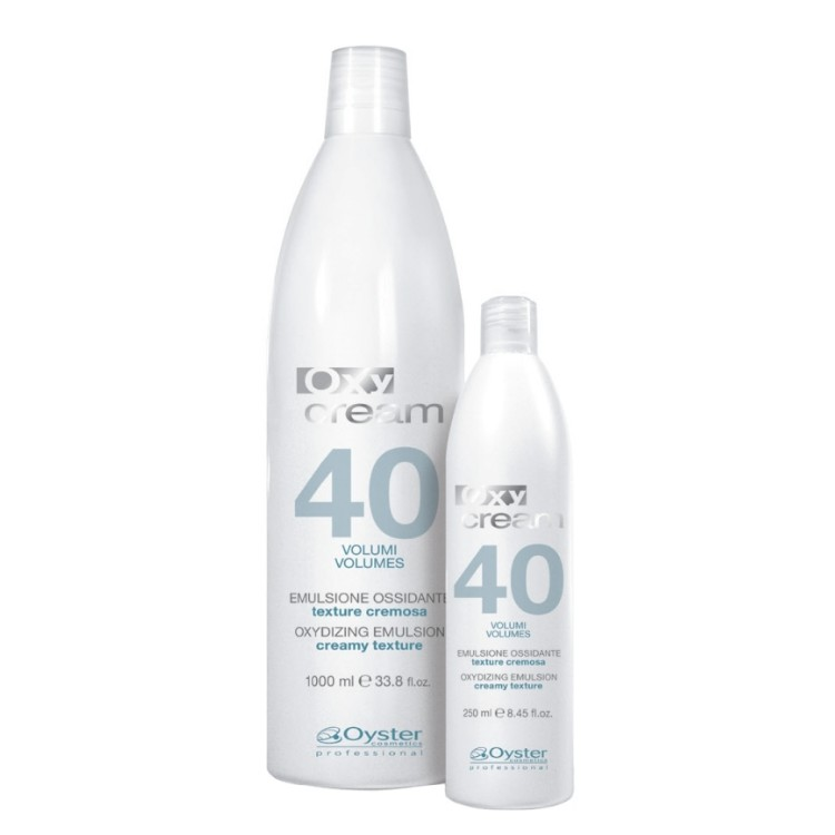 Emulsie Oxidanta 12% 40 vol - Oyster Cosmetics Oxy Cream Oxydizing Emulsion 12% 40 vol 1000ml imagine produs