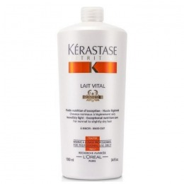 Balsam pentru Par Normal spre Uscat - Kerastase Nutritive Lait Vital Irisome Conditioner 1000 ml