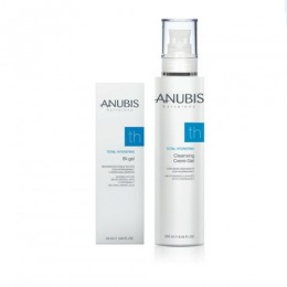 Pachet pentru Ten Uscat - Anubis Total Hydrating - Demachiant si Gel Hidratant