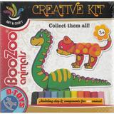 BooZoo animals. Plastilina, Animale: Dinozaur