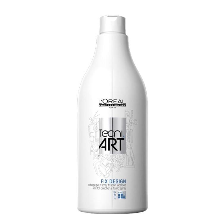 Spray de Fixare Directional Rezerva - L'Oreal Professionnel Tecni Art Fix Design Hairspray Refill 750ml