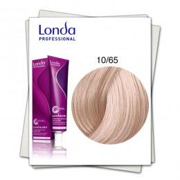 Vopsea Permanenta - Londa Professional nuanta 10/65 blond cenusiu violet roz