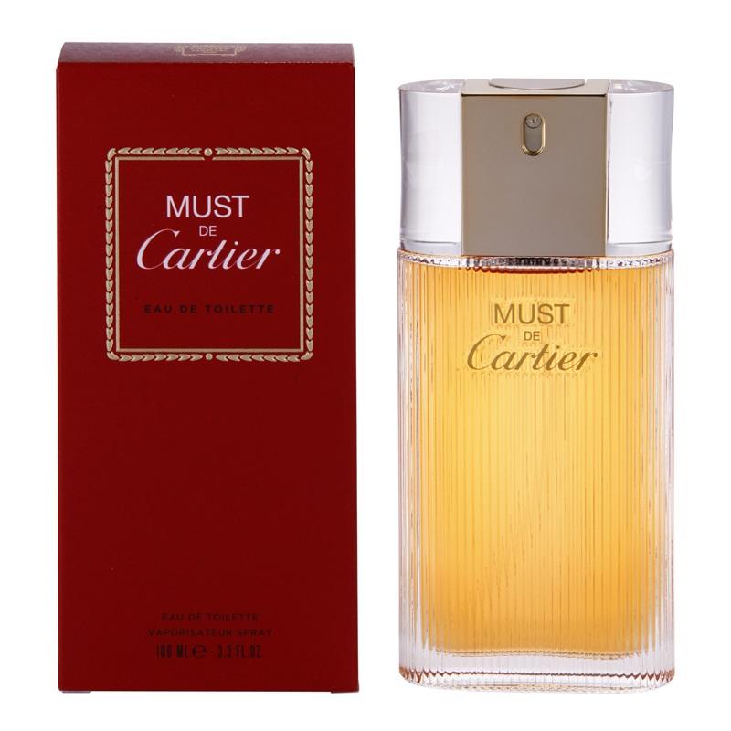 Apa de Toaleta Cartier Must de Cartier, Femei, 100ml imagine produs