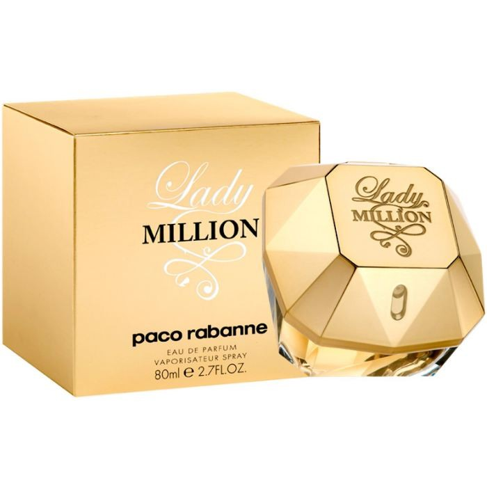 Apa de Parfum Paco Rabanne Lady Million, Femei, 80ml poza