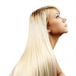 Tresa de par extravolum Veritable , lungime 60 cm , culoare blond platinat ( # 613 )