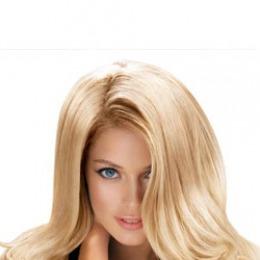 Tresa de par extravolum Veritable, lungime 65 cm, culoare blond platinat ( # 613 )
