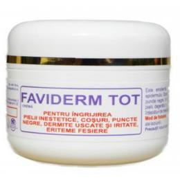 Crema Tip Unguent pentru Ingrijirea Pielii Inestetice Faviderm Tot Favisan, 30ml