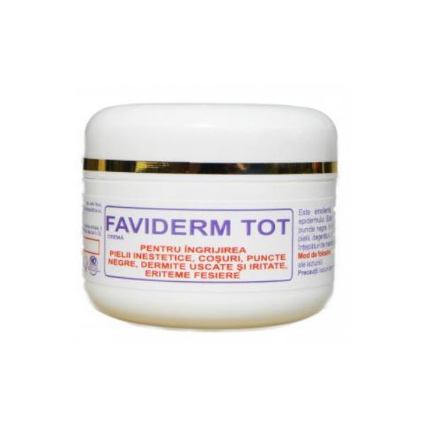 Crema Tip Unguent pentru Ingrijirea Pielii Inestetice Faviderm Tot Favisan, 30ml esteto.ro