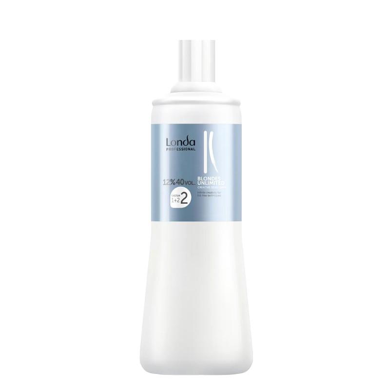 Oxidant Permanent 12% - Londa Professional Blondes Unlimited Creative Developer 40 vol 1000ml imagine