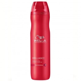 Sampon pentru Par Fin sau Normal - Wella Professionals Brilliance Shampoo 250 ml