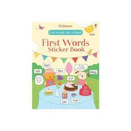 Get Ready for School First Words Sticker Book, editura Usborne Publishing