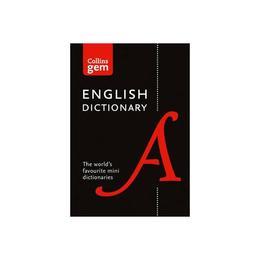 Collins Gem English Dictionary, editura Harper Collins Paperbacks