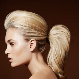 Coada de par Veritable , lungime 60 cm , culoare blond aluna ( # 12 )
