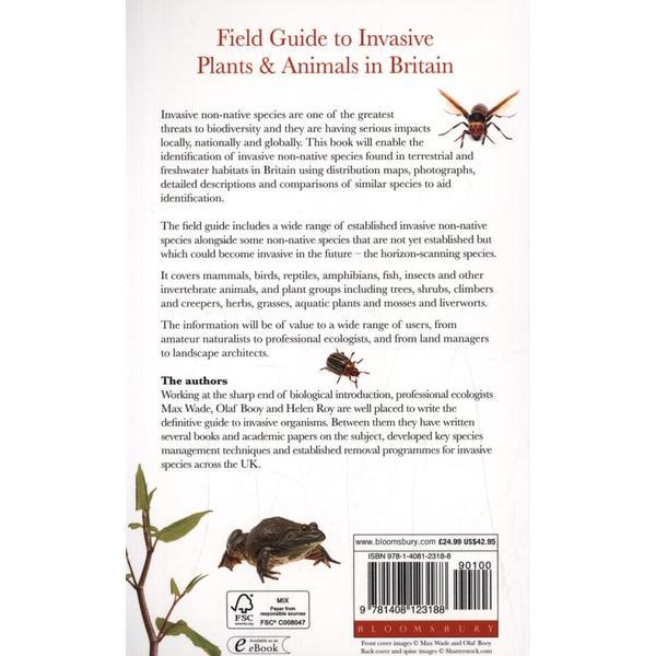 field guide to invasive plants and animals in britain editura