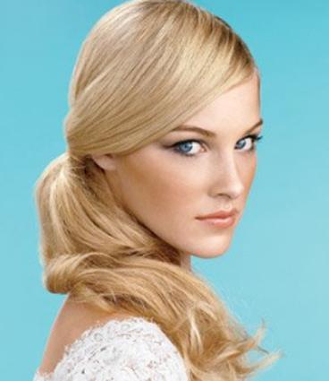 Coada De Par Veritable Lungime 50 Cm Culoare Blond Roscat 16