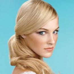 Coada de par Veritable , lungime 50 cm , culoare blond roscat ( # 16 )