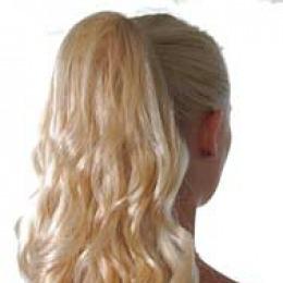 Coada de de Veritable , lungime 55 cm , culoare blond roscat ( # 16 )