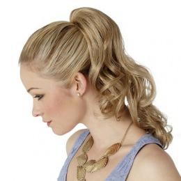 Coada de par Veritable , lungime 60 cm , culoare blond roscat ( # 16 )