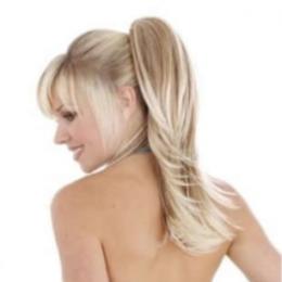 Coada de par Veritable , lungime 65 cm , culoare blond roscat ( # 16 )