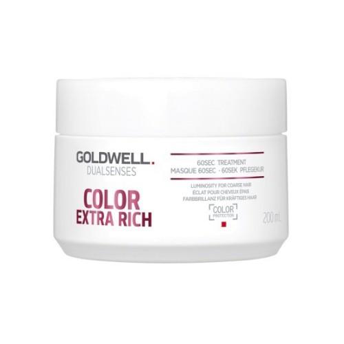 Masca pentru Par Vopsit - Goldwell Dualsenses Color Extra Rich 60sec Treatment 200ml imagine