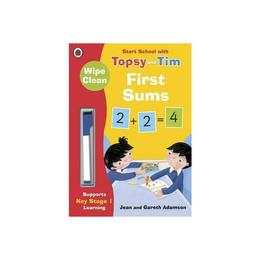 Wipe-Clean First Sums: Start School with Topsy and Tim, editura Ladybird Books