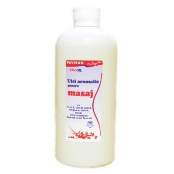 Ulei Aromatic pentru Masaj Favioil Favisan, 500ml imagine produs