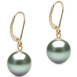 Cercei de Aur cu Perle Tahitiene Mari Premium - Cadouri si Perle
