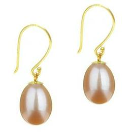Cercei de Aur cu Perla Crem - Cadouri si Perle
