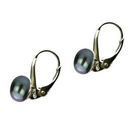 Cercei Clasic Black Pearl - Cadouri si Perle