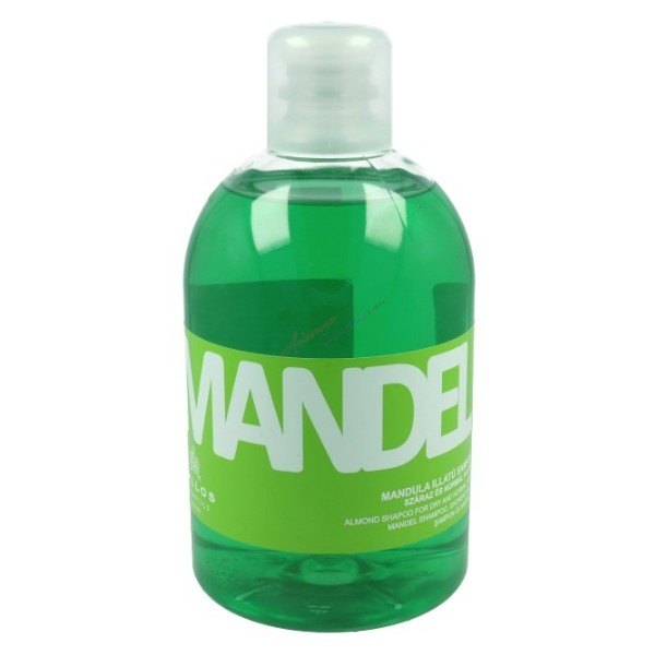 Sampon cu Migdale pentru Par Uscat si Normal - Kallos Mandel Almond Shampoo for Dry and Normal Hair 1000ml imagine